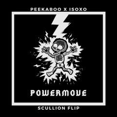 peekaboo x isoxo - powermove (scullion flip)
