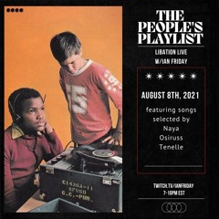 The People's Play List with Ian Friday 8-8-21