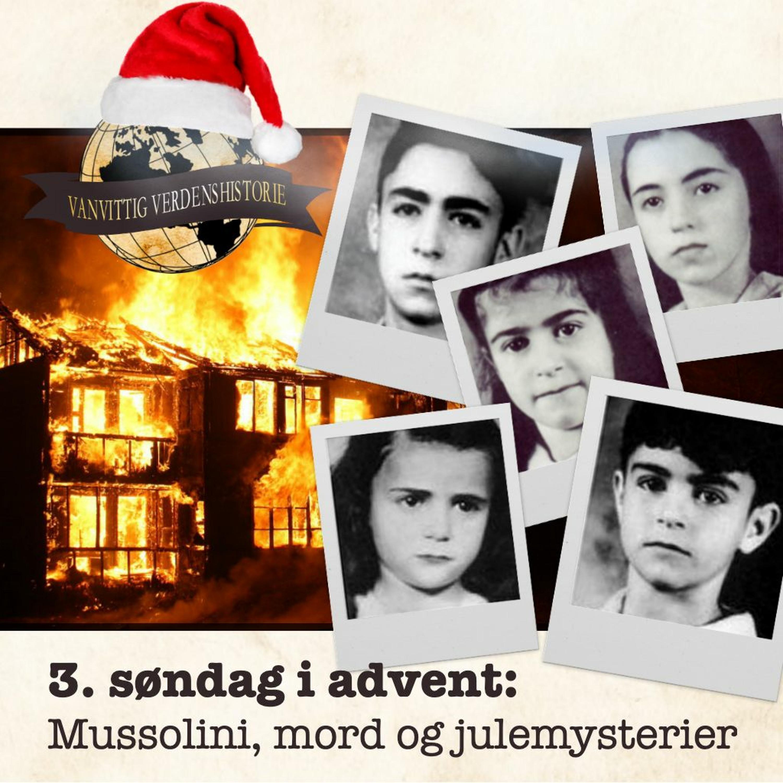 ADVENTSKALENDER: Mussolini, mord og julemysterier