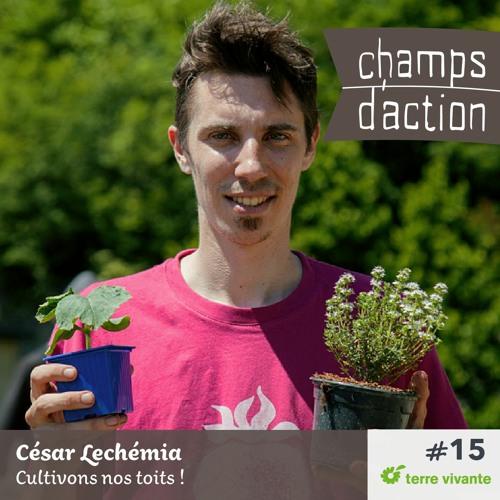 CHAMPS D'ACTION - Saison 2 - Ep.15 - César Lechémia, cultivons nos toits !