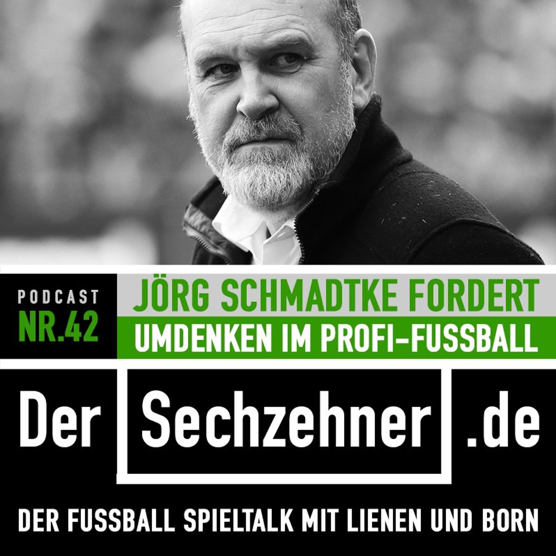 Jörg Schmadtke im Sechzehner No.42