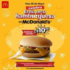 McDonald's día de la hamburguesa