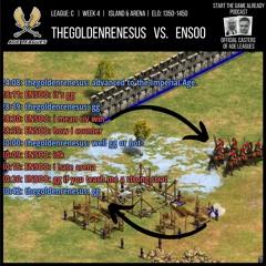AoE Leagues: thegoldenrenesus vs. ENSOO