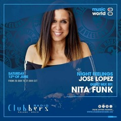 ● 12-06-2021 ☆ Guest Mix By Nita Funk / Clubbers Radio & Night Feelings Sessions /