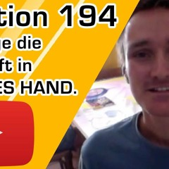 Lektion 194 - Ich lege die Zukunft in GOTTES HAND. Ein Kurs in Wundern