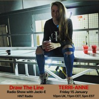 #135 Draw The Line Radio Show 15-01-2021 with guest mix 2nd hr by Terri-Anne