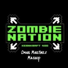 Zombie Nation Vs Dave Winnel - Smoke The Kernkraft 400 Machine (Omar Martinez Mashup)