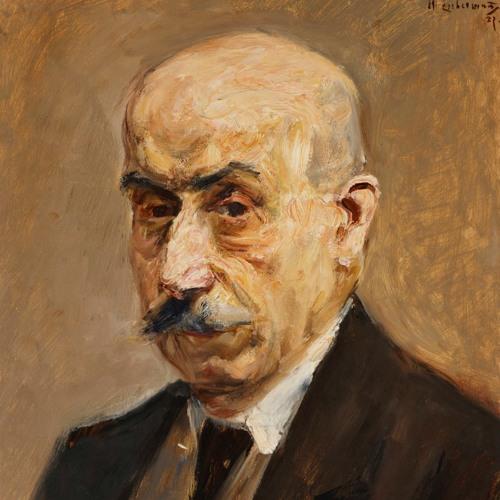 Max Liebermann Self Portrait