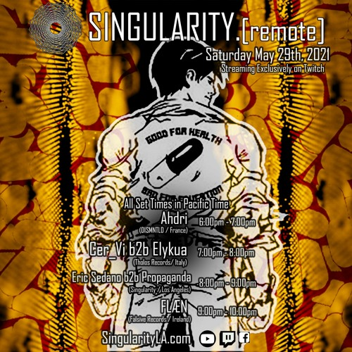 Singularity.[remote] - Cer_Vi_ b2b Elykua (29 May 2021, Livestream)