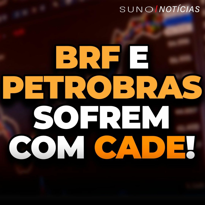 BRF (BRFS3) e Petrobras (PETR4) sofrem com Cade!   Riscos internos voltam a derrubar Ibovespa