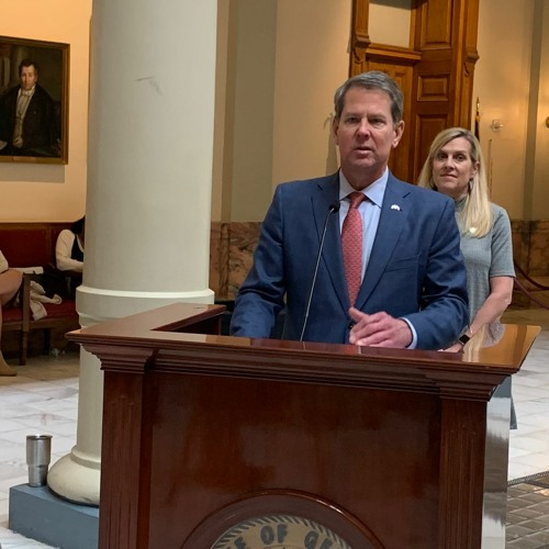 Governor Brian Kemp Talks About State of Budget Process