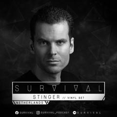 SURVIVAL Podcast #123 by Stinger (Vinyl Set)
