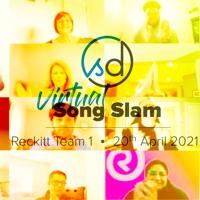 Reckitt Team 1 | Virtual Song Slam | 20 Apr 2021 | SongDivision