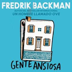 GENTE ANSIOSA By Fredrik Backman