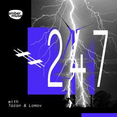 Amber Muse Radio Show #247 with Taran & Lomov // 20 Aug 2021