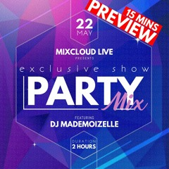 *PREVIEW* 2 HOURS M-XCLOUD LIVE (Spicy Sessions 021 - EDM/Disco/Moombahton...) (HD, Mastered)