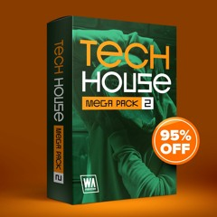 95% OFF - Tech House Mega Pack 2 (1000+ Drums, Kits, Presets & More)