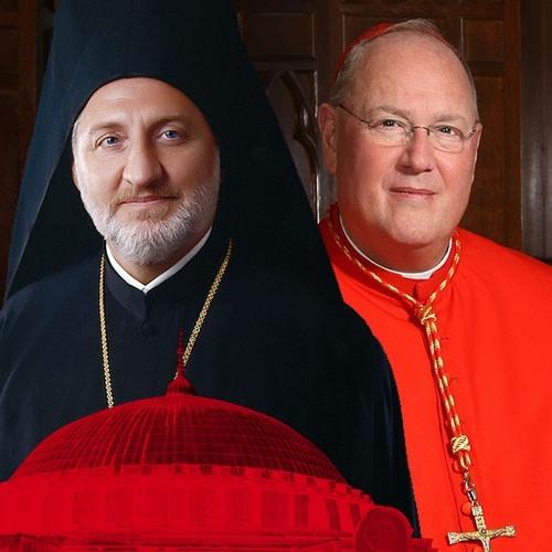 Hagia Sophia: Archbishop Elpidophoros and Cardinal Dolan