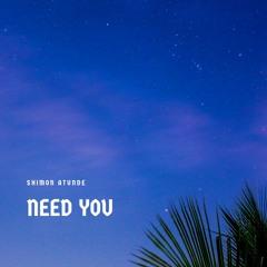 Shimon - Need You