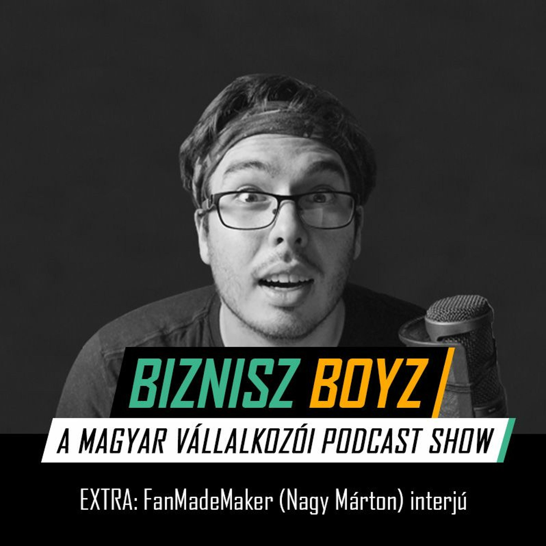 EXTRA: FanMadeMaker (Nagy Márton) interjú - megújulás, fejlődés, útkeresés Youtuber-ként