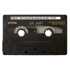 """Old to New(ish) Boom Bap Hip-Hop Mix"" 6-16-21"