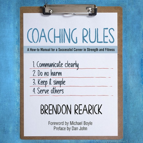 Coaching Rules by Brendon Rearick, Audio Sample