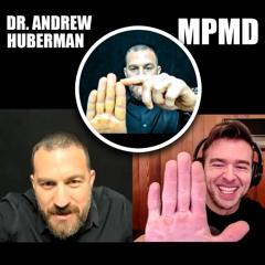 Dr. Andrew Huberman Measures My Digit Ratio