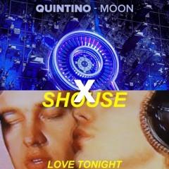 Moon x Love Tonight - Quintino vs Shouse (JACKZ Mashup)