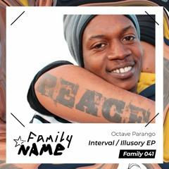 PREMIERE / Octave Parango - Illusory (Original Mix) [Family N.A.M.E]