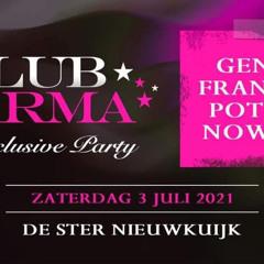 Club KARMA 3 juli 2021