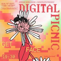 JEROME WORLDWIDE DIGITAL PICNIC - get face