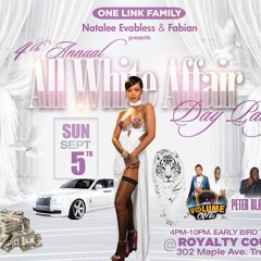 SEPT 5 ALL WHITE PARTY