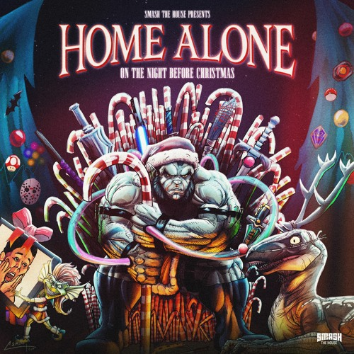 Home Alone (On The Night Before Christmas)
