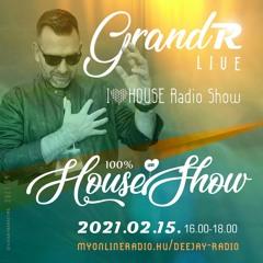 I Love House Radio Show - Deejay Radio (HU) 2021 02 15 (HitHouse)(by GrandR)