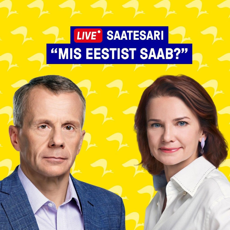 Mis Eestist saab? Jürgen Ligi ja Keit Pentus-Rosimannus