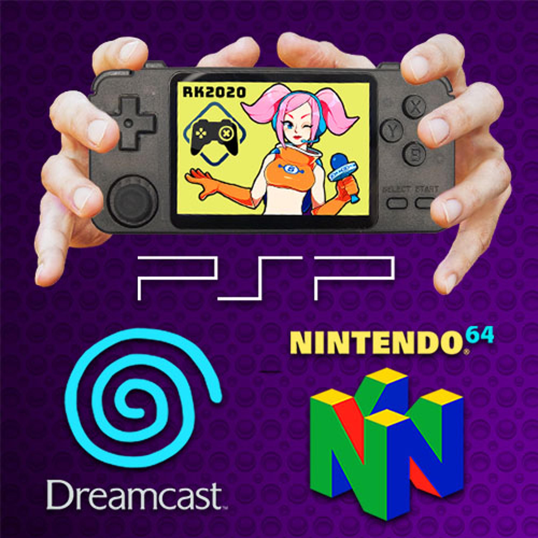 RK2020 ~ Dreamcast, PSP & N64-Handheld (Review)