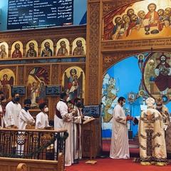 The Seven Tunes - Fr. Mina Ibrahim Ayad Gerges, Dcn. John & Benjamin Rofail (Theophany 2021)