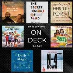 On Deck - Audiobooks on sale 8.31.21