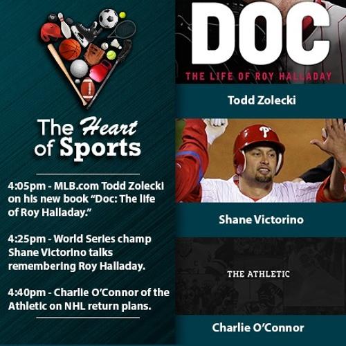 The Heart of Sports w Jason Springer & Jeff Cohen: Todd Zolecki, Shane Victorino & Charlie O'Connor