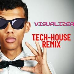 Alor On Danse (Visualizer Tech-House remix )