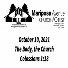 2021-10-10 - The Body, the Church (Colossians 1:18) - Nathan Franson