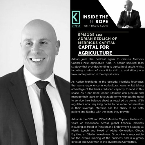 Ep 102: Adrian Redlich - Capital for agriculture