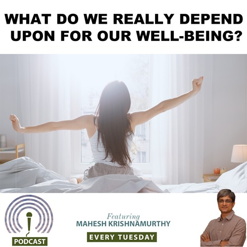 What Does Our Wellbeing Depend Upon