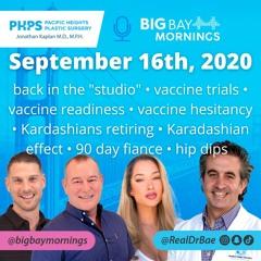 Dr. Bae on Big Bay Mornings September 16th, 2020