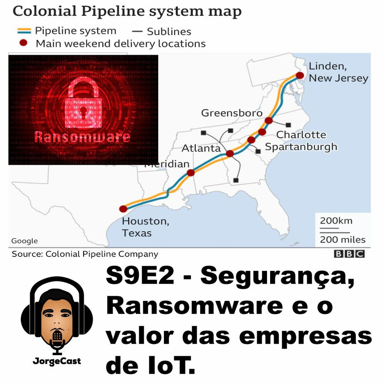 S9E2 - Segurança, Ransomware e o valor das empresas de IoT