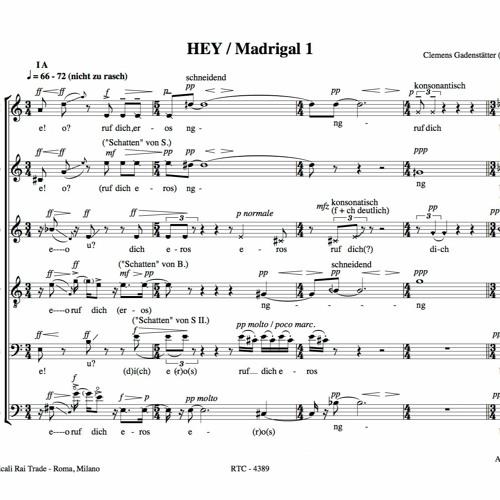HEY - Madrigal 1