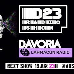 Maks - Live Dj Set @D 23 Radioshow - Lahmacun Radio - Davoria - 19.06.21.