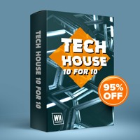 95% OFF - Tech House 10 For $10 (2000+ Drums, Kits, Presets & More)