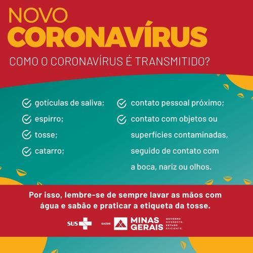 Spot Campanha SES-MG Coronavírus