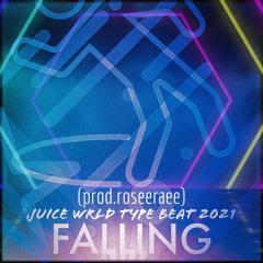 "JUICE WRLD TYPE BEAT OCT (2021) ""Falling"" (prod.roseeraee) •Available Leasing•"